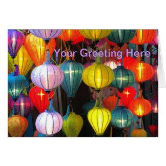 Lantern Festival Hoi An Vietnam Card