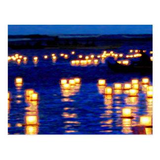 Lantern Floating Festival Postcard