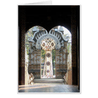 Lantern in Doorway Cards