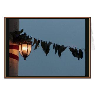 Lantern & Leaves Diwali Card