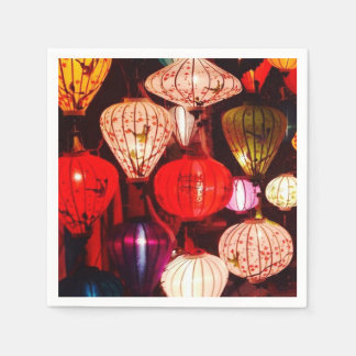 Lanterns Disposable Napkins