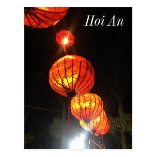 Lanterns in Hoi An Postcard