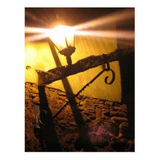 Lanterns in the Subterranean Road Postcard