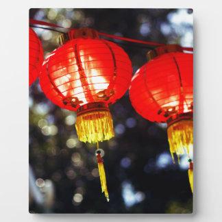 Lanterns Plaque