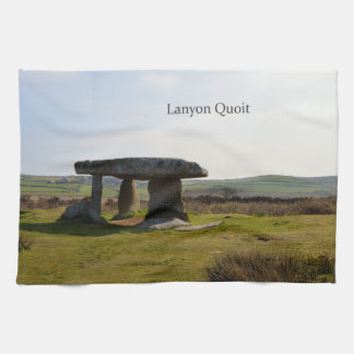 Lanyon Quoit Standing Stones Cornwall England Kitchen Towel