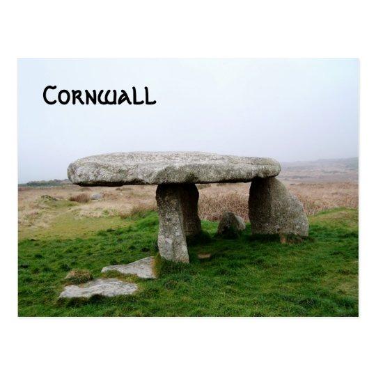Lanyon Quoit Standing Stones Cornwall England Postcard