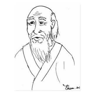 Lao Tzu Postcard