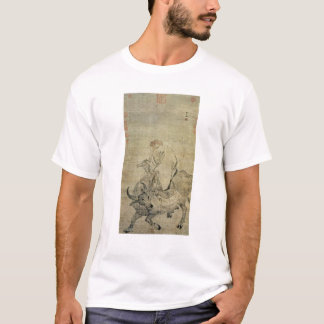 Lao-tzu  riding his ox, Chinese, Ming Dynasty T-Shirt