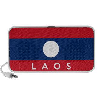 Laos country flag symbol name text laptop speaker