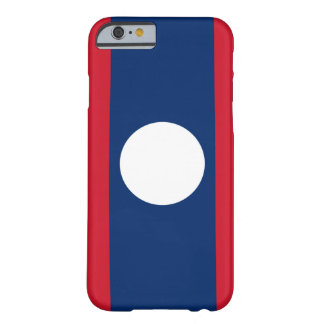 Laos Flag Barely There iPhone 6 Case