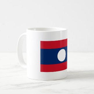 Laos Flag Coffee Mug