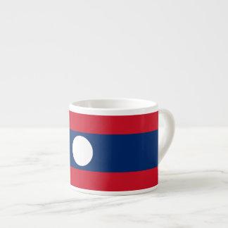 Laos Flag Espresso Cup