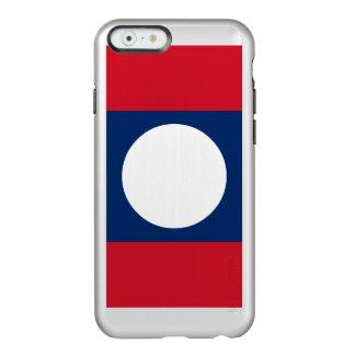 Laos Flag Incipio Feather® Shine iPhone 6 Case
