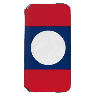 Laos Flag Incipio Watson™ iPhone 6 Wallet Case