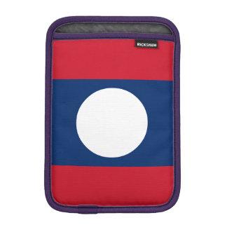 Laos Flag iPad Mini Sleeve