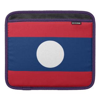 Laos Flag iPad Sleeve