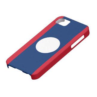 Laos Flag iPhone 5 Case