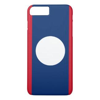 Laos Flag iPhone 8 Plus/7 Plus Case