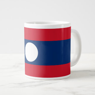 Laos Flag Large Coffee Mug