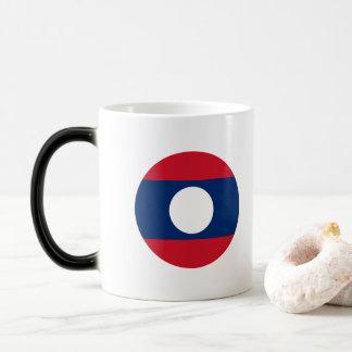 Laos Flag Magic Mug