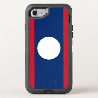 Laos Flag OtterBox Defender iPhone 8/7 Case