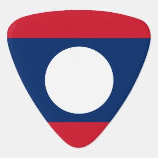Laos Flag Plectrum