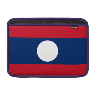 Laos Flag Sleeve For MacBook Air