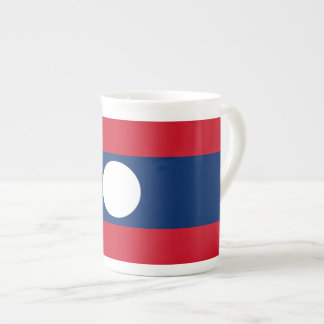 Laos Flag Tea Cup