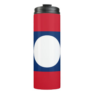 Laos Flag Thermal Tumbler