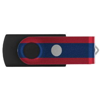 Laos Flag USB Flash Drive
