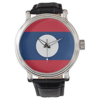 Laos Flag Watch