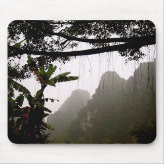Laos Jungle Mouse Pad