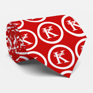 Laos Kip Lao / Laotian Money Sign Tie