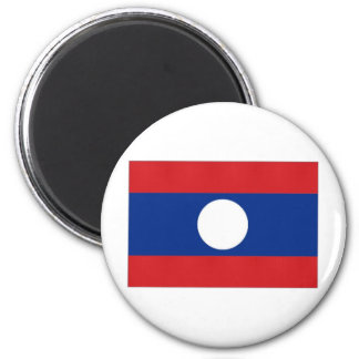 Laos National Flag Magnet