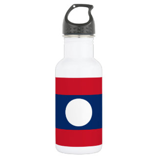 Laos National World Flag 532 Ml Water Bottle