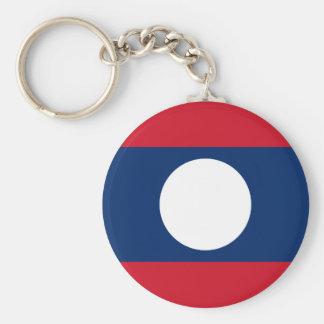 Laos National World Flag Key Ring