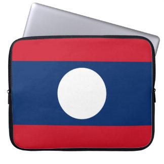 Laos National World Flag Laptop Sleeve