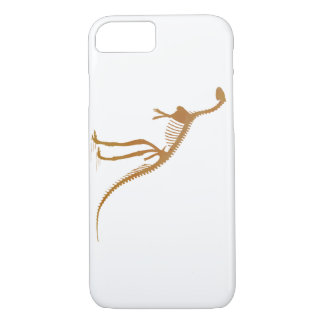 laosaurus skeleton iPhone 7 case