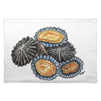 Lapas Patella Shells Seafood kitchen decor Placemat