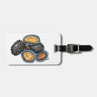 Lapas Patella Shells Seafood suitcase label Luggage Tag