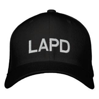 LAPD EMBROIDERED BASEBALL CAP