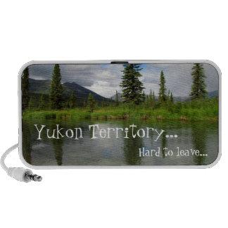 Lapie Perfection; Yukon Territory Souvenir Mini Speakers