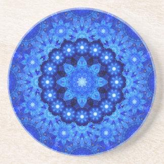 Lapis Crown Mandala Coaster