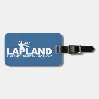LAPLAND custom luggage tag
