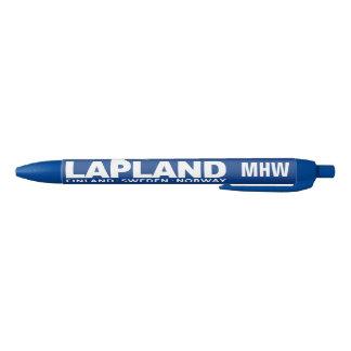 LAPLAND custom monogram pens