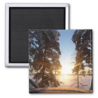 Lapland Landscape Magnet