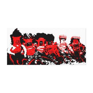 Lappenpop Rag Doll Stretched Canvas Prints