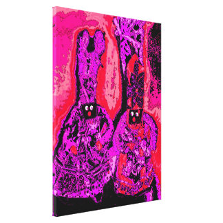 Lappenpop Rag Doll Gallery Wrapped Canvas