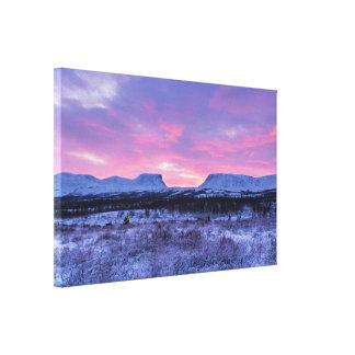 Lapporten the Gateway to Lapland Canvas Print