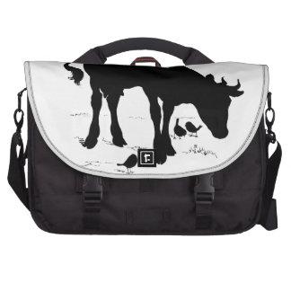 laptop case cow bag for laptop